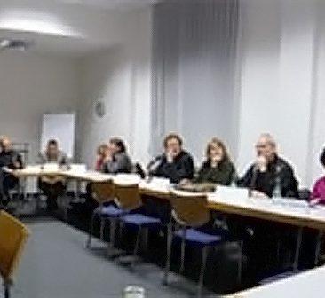 Foto der Diskussionsrunde
