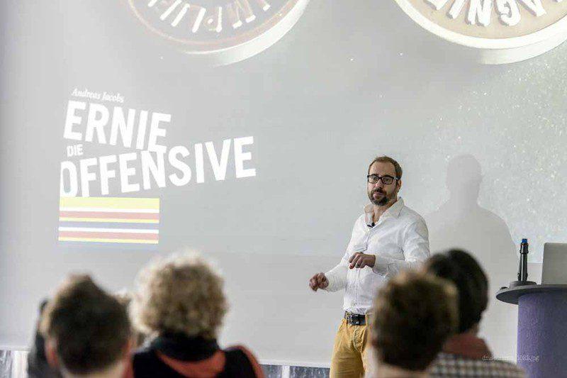 aus Sicht eines Designers: Die Ernie-Offensive,  Andreas Jacobs, Kreativtrainer und Vorstandsvorsitzender der AGD