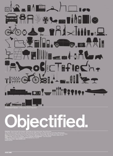 "Buchcover ""Objectified"""