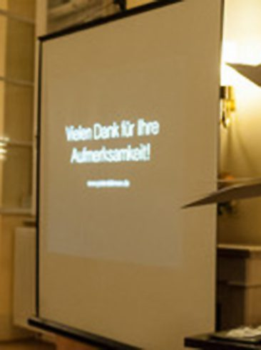 Foto der Präsentation