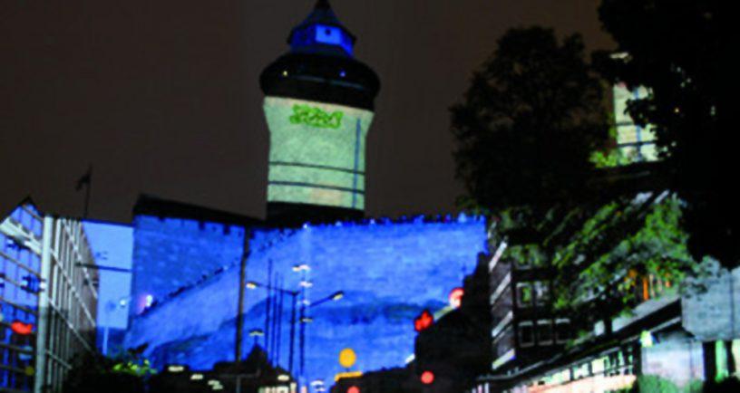 """Foto """"Die Blaue Nacht"""""""