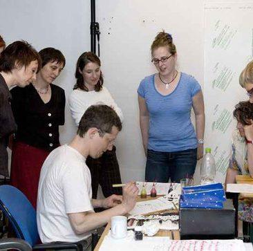 Foto des Workshops