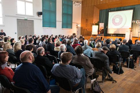 #agdjt13 – Das aufmerksame Auditorium |Foto: Dieter Düvelmeyer