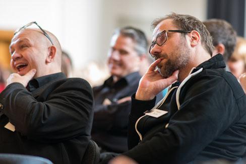 #agdjt13 – Die Vorträge verbinden Inspiration und Information, dazu eine Prise Humor oder Selbstironie |Foto: Dieter Düvelmeyer