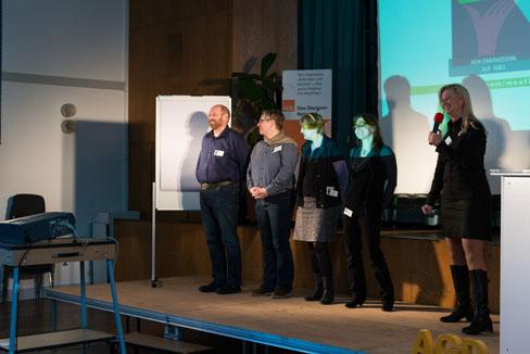 #agdjt13 – Das AGD-Team wird vorgestellt |Foto: Dieter Düvelmeyer