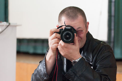 #agdjt13 – Gegen-Knipser! Mit Wolfgang Beinert. |Foto: Dieter Düvelmeyer