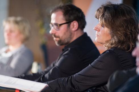MV 2013 – Sabine Reister, Andreas Jacobs und Anja Schacht-Kremsier |Foto: Dieter Düvelmeyer