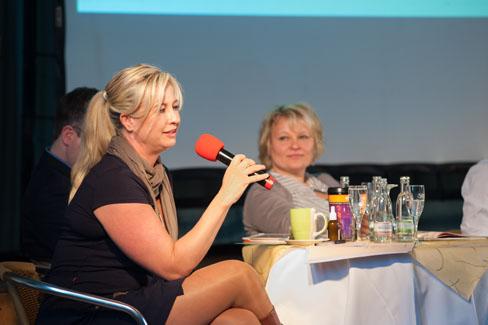 MV 2013 – Intensiver Austausch zwischen Mitgliedern und Vorstand | Foto: Dieter Düvelmeyer