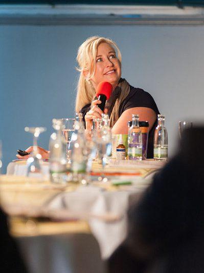 MV 2013 – Peggy Stein auf dem Podium | Foto: Dieter Düvelmeyer