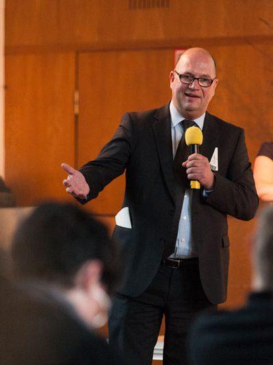 MV 2013 – Christlieb Klages von KVLEGAL beschreibt den Beratungsalltag der Anwälte | Foto: Dieter Düvelmeyer