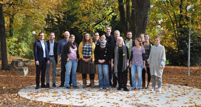 """Teilnehmer und Referenten des Seminars """"Start frei!"""""""