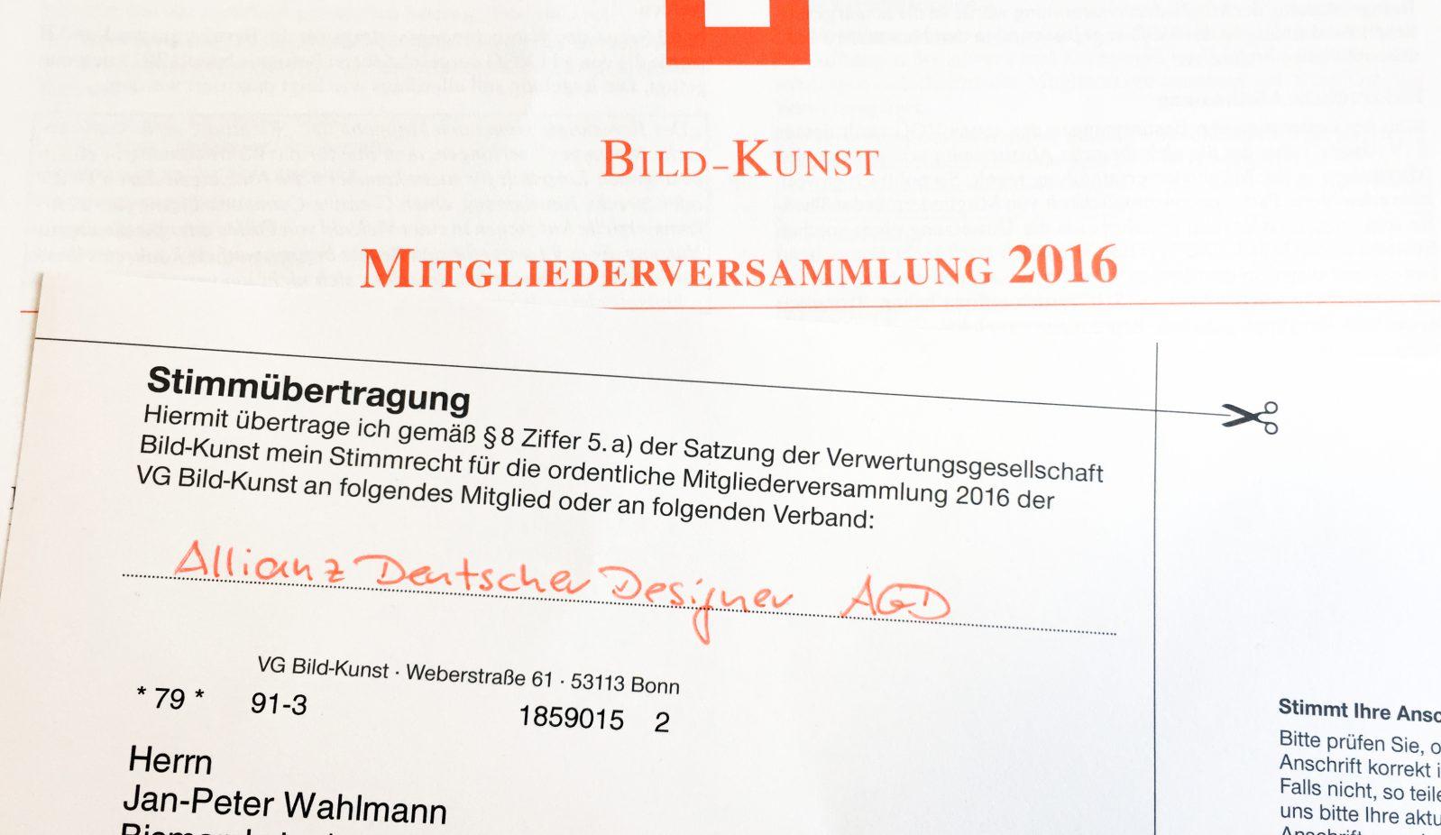 Foto VG Stimmübertragung