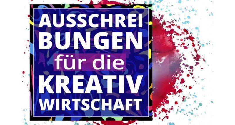 Ausschreibungen für die Kreativwirtschaft