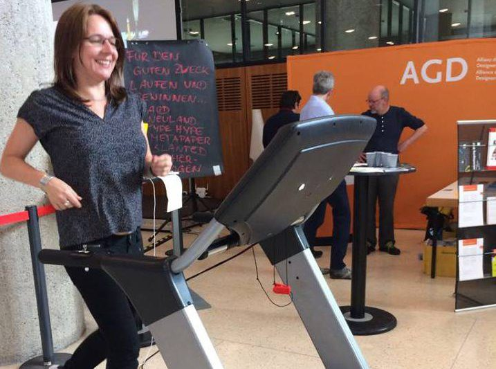 Kilometer 25 legte AGD-Geschäftsführerin Victoria Ringleb hin. © AGD
