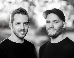 Arne Claußen und Sebastian Reichardt. Foto: Büro Grafikhelden Design Studio