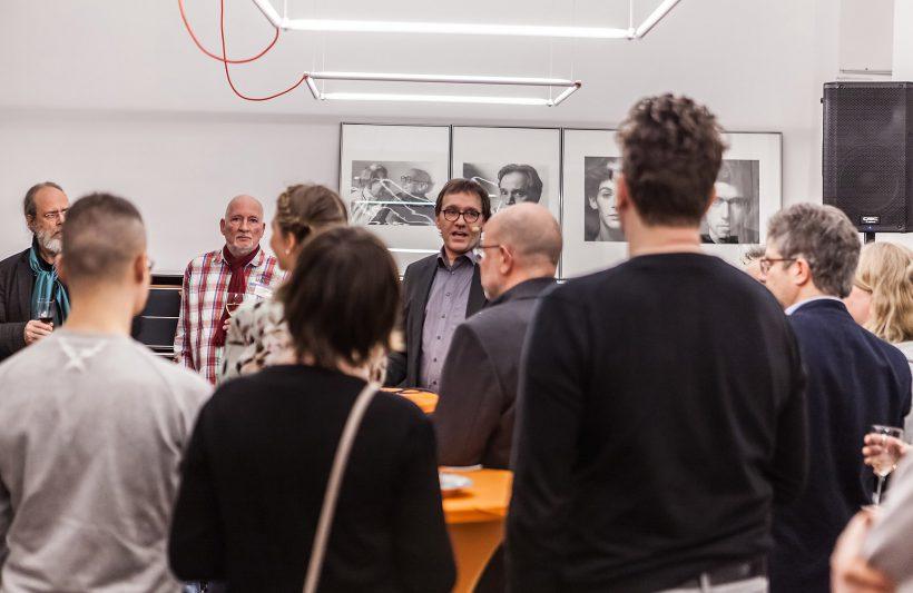 Begrüßung durch den AGD-Vorstandsvorsitzenden Torsten Meyer-Bogya. Foto: Peggy Stein