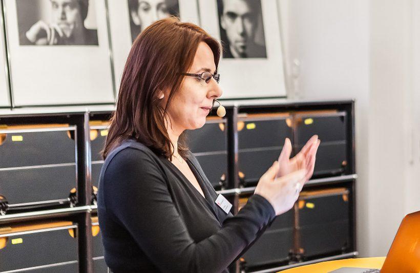 AGD-Geschäftsführerin Victoria Ringleb über die AGD als Verband. Foto: Peggy Stein