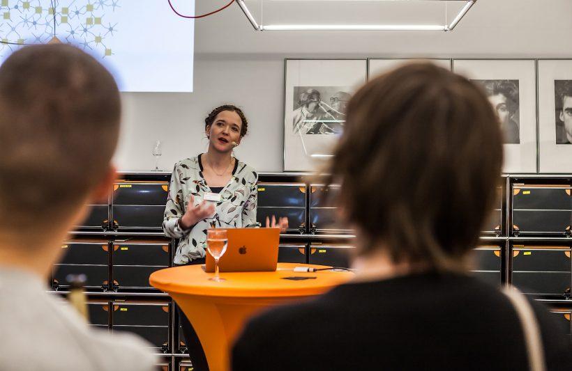 Margarete Goj, Presse- und Öffentlichkeitsarbeit, über die AGD als Netzwerk. Foto: Peggy Stein