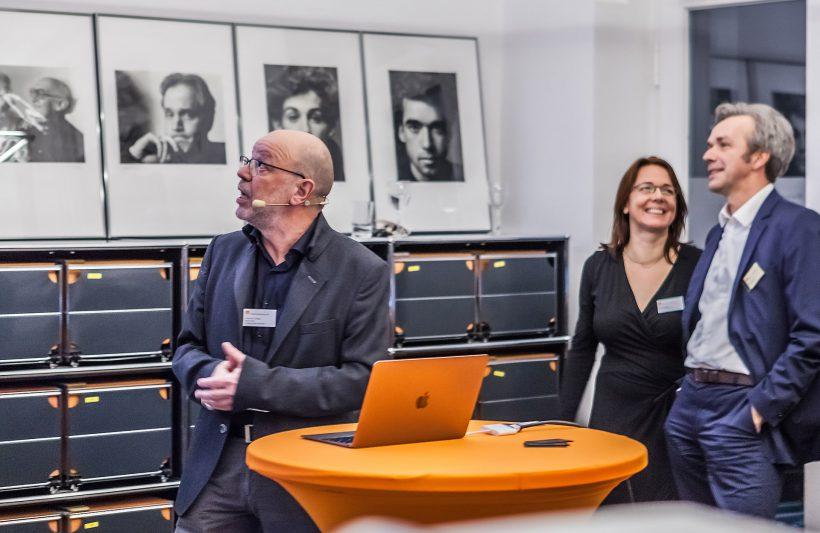 Christhard Landgraf, Projektleider von »Design macht: Business« über die AGD als Bildungspartnerin. Foto: Peggy Stein