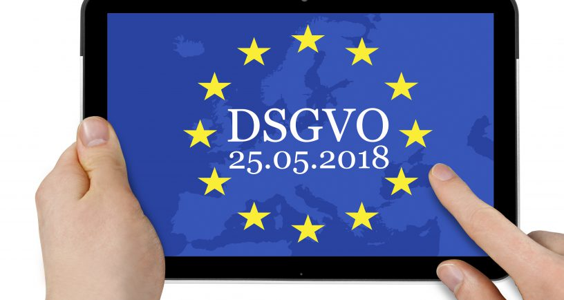 GDPR General Data Protection Regulation Datenschutz-Grundverordnung DSGVO