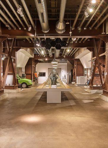 Red Dot Design Museum Essen, Fundamenthalle, Foto: Red Dot Design Museum